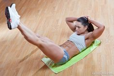8 Exercises to Blast Muffin Top Fat! #muffintop #flatabs #flattummy