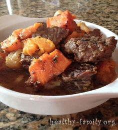 It's low glycemic, low carb, sweet and savory. Get the recipe for this low carb beef stew. Corn allergies? We've got you covered too!