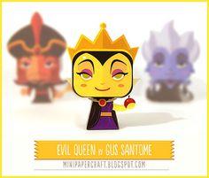 Mini Evil Queen Papercraft