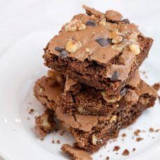 Chocolate Walnut Passover Brownies