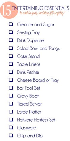 Wedding Gift List Advice : about Registry Advice on Pinterest Wedding gift registry, Wedding ...