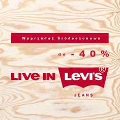 Wyprzedaz srodsezonowa! Do -40% #jeanspl #wyprzedaz #srodsezonowa #promocja #znizka #rabat #rabaty #levis #liveinlevis #levisstrauss