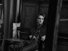 Robert Pattinson photographed by Peter Lindbergh for Dior {PattinsonWorld edit}