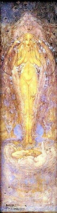 Spring by Frances Macdonald, 1897