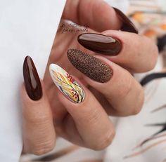 Nageldesign Do You Need A Dishwasher? Glam Nails, Nail Manicure, Cute Nails, Pretty Nails, Fall Nail Art, Autumn Nails, Sparkly Nails, Glitter Nails, Perfect Nails