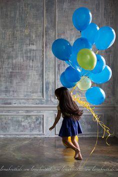 balloons & kids
