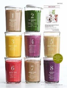 8 smoothies//