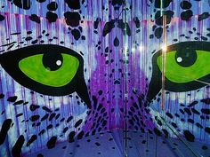 More Photos of Stunning Street Art Inside a Dilapidated Building in Paris - My Modern Metropolis
