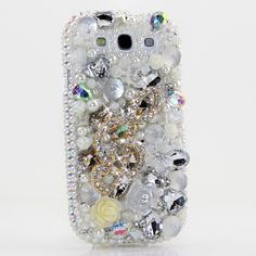 "Style# 362 Bling case for all phone / device models. This Bling case can be handcrafted for Samsung Galaxy S3, S4, Note 2. The current price is $79.95 (Enter discount code: ""facebook102"" for an additional 10% off during checkout)"