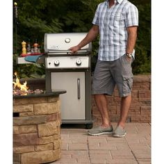 Shop Weber Spirit® BTU) Liquid Propane Gas Grill at Lowe's Canada. Find our selection of gas bbq & grills at the lowest price guaranteed with price match + off. Propane Gas Grill, Gas Bbq, Portable Bbq, Renovation Hardware, Lowe's Canada, Outdoor Cooking, Grills, Home Improvement, Appliances