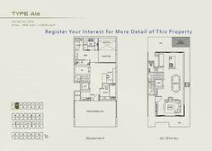 Floor Plan of Type Ala