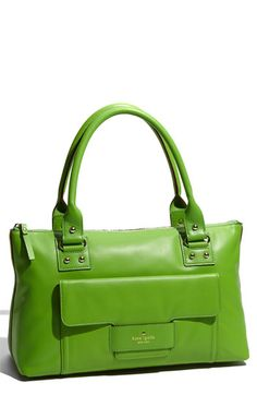 kate spade - love the green and simple clean lines