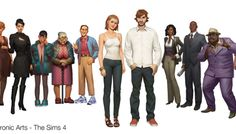 The Sims 4: New Concept Art by Wesley Burt