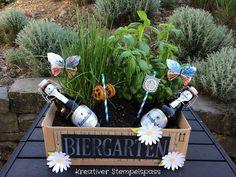 Kreativer Stempelspaß: Biergarten