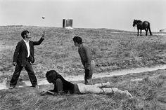 Josef Koudelka FRANCE. Brittany. Gypsies. 1973.