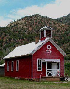 Canyon Creek Schoolhouse looks just like Red Barn Spa & Salon...coming soon!