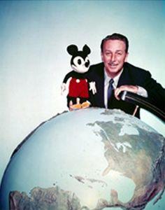Walt Disney and Mickey