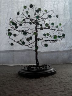 DIY Tree Cake Topper (see my Wedding Cakes board to see it in action)