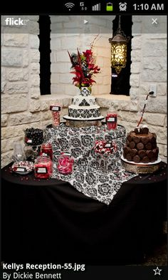 Cake/candy buffet