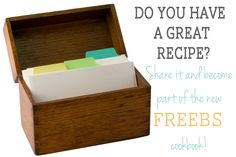 Write a cookbook with me! from FunCheapOrFree.com