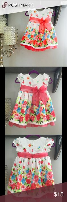 Bonnie Baby Dress Beautiful Bonnie baby dress size 18 M perfect for Easter or Passover. This dress is missing the diaper cover. Bonnie Baby Dresses Formal
