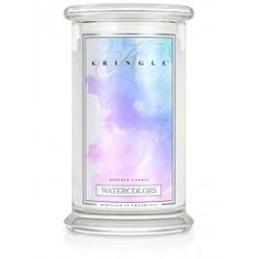 Kringle Candles - Water Colours - Large 2 Wick Jar