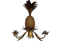 Pineapple Candle Sconce on OneKingsLane.com