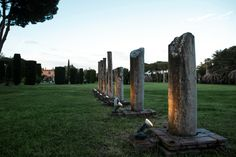 Villa Dino in Via Appia Antica, has a beautiful private park, Archaeological artifacts embellish the garden making each event truly unique. Strolling along the boulevard entrance, you can see the monumental Roman colonnade, a magnificent backdrop for scenic outdoor ceremonies. www.villadino.com