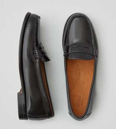 347b39fb968 G.H. Bass   Co. WeeJuns Loafer - Free Shipping Black Leather Shoes