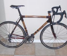 Why bamboo - why a bike - 2 passions I have are fitness - primarily cycling, and well, gardening and anything that comes from the ground.  In my gar...