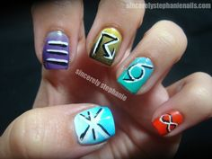 synoptic weather code nail art