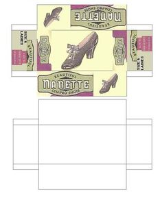 printable dollhouse shoes - j stam - Picasa Web Albums
