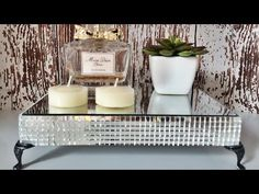 DIY Bandeja Espelhada - YouTube