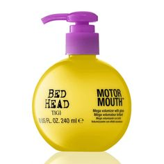 Thicker Hair Remedies Bed Head Motor Mouth Mega Volumizer with Gloss is a mega volumizer with gloss by TIGI Bed Head. - Bed Head Motor Mouth Mega Volumizer with Gloss is a mega volumizer with gloss by TIGI Bed Head. Hair Remedies For Growth, Hair Growth, Get Thicker Hair, How To Get Thick, Hair Thickening, Grow Hair, Fine Hair, Hair And Nails, Health And Beauty