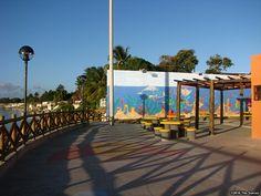 Orla Pôr-do-Sol, localizada no Mosqueiro, às margens do Rio Vaza-Barris