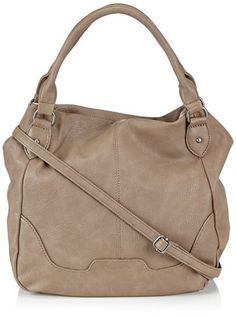 Tamaris LENA Shopper 1005999-473 Damen Shopper 36x32x15 cm (B x H x T), Beige (mud)