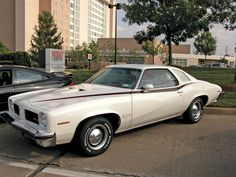 1974 Pontiac GTO.  Total Production: 7,058.  Current Price Range: $9,500-$16,000.  Click for Article.