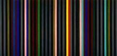 Black Grey Beat - Gene Davis