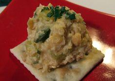 Simple Chickpea Eggless Salad