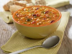 Big Batch Minestrone Soup..make this recipe tonight, then store the ample leftovers for a healthy, homemade meal your family can enjoy anytime
