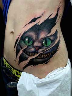 Love Tattoos, Awesome Tattoos, Future Tattoos, Emo Tattoos, Beautiful Tattoos, Body Art Tattoos, Tatoos, Cheshire Cat Drawing, Cheshire Cat Tattoo