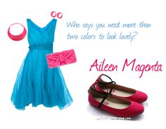 Spark up your wardrobe with Aileen Magenta :)