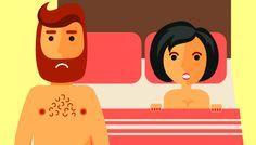 Se para muitos homens o sexo oral é encarado apenas como uma carícia preliminar, para a grande maioria das mulheres ele é essencial para atingir o orgasmo. E não é raro se deparar com reclamações femininas sobre a falta de habilidade masculina em praticar o ato com eficiência. Para ilustrar de forma bem-humorad