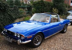 Triumph Stag.  One of the most desirable British cars of the 1970s. However its V8 was let down by a poor cooling system which meant that the Stag came to a premature end. Still a car I would like to own (a modern radiator will fix the overheating).