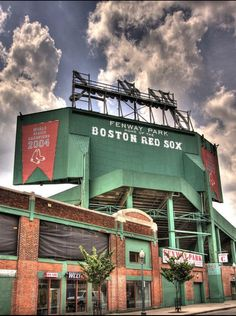 Fenway-not my  home team but still had to go see this stadium.
