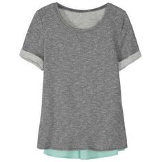 I love these types of tops! Market & Spruce Xander Short Sleeve Woven Back Sweatshirt