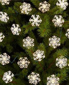 Kurt Adler Christmas Lights, Snowflakes - Holiday Lane - Macy's