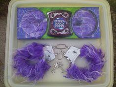 2 Pair Sexy Couples Furry Handcuffs Quick Release Latch W/ Keys #HandCuffs #BachelorBacheloretteParty