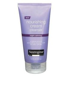 I'm learning all about Neutrogena Night Calming Nourishing Cream Cleanser at Oily Skin Treatment, Anti Aging Night Cream, Acne Face Mask, Neutrogena, Dermalogica, Nude Makeup, Hormonal Acne, Damp Hair Styles, Tinted Moisturizer