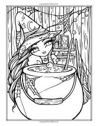 Image Result For Hannah Lynn Enchanted Halloween A Whimsy Girls Fantasy Coloring Book